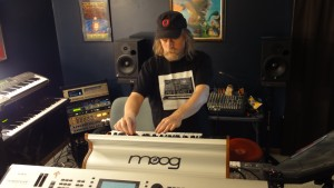 Touch the Moog. Love it.